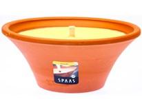 Svíčka Citronella Spa terracotta 1ks