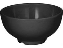 Miska kulatá 9,7cm melamin černá 1ks