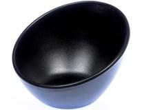 Miska diagonální 13x12cm melamin černá 1ks
