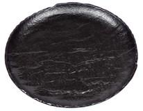 Talíř mělký Vulcania 28cm černý 1ks