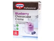 Dr.Oetker Cheesecake krém borůvkový 1x1kg