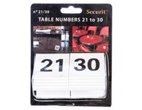 Číslice na stoly 21-30 1ks