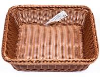 Košík na pečivo GN2/3 APS hnědý 1ks