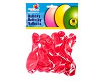 Balónky nafukovací 24cm Srdce 10ks