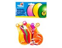Balónky nafukovací 26cm neonové 10ks