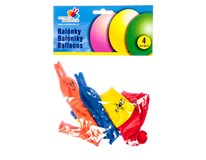 Balónky nafukovací zajíc+housenka 4ks