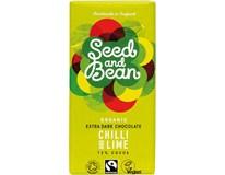 Seed and Bean BIO Organic Čokoláda chilli/ limetka 1x85g