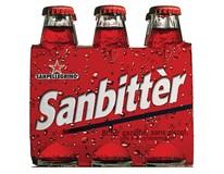 Sanbitter Rosso italský nealkoholický aperitiv 6x0,1L