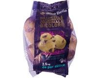 Brambory konzumní Blue Belle čerstvé 1x2,5kg