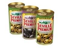 Seville Premium Olivy zelené+černé mix 3x350g