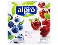 Alpro Soya jogurt bílý chlaz. 2x125g