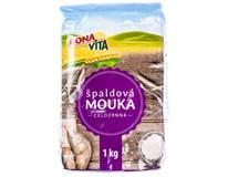 Bonavita Mouka špaldová celozrnná 1x1kg