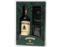 Jameson irská whiskey 40% 1x700ml + sklenice 2ks