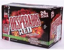 Desperados Beer pivo 24x330ml nevratné sklo