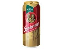 Gambrinus Plná 12 pivo 24x500ml plech