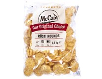 McCain Rösti rounds mraž. 2x2,5kg