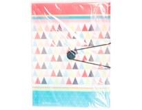 Desky s gumou Herlitz A4 Graphic Pastels Poly 1ks