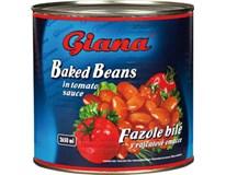 Giana Fazole v tomatové omáčce 1x2650ml