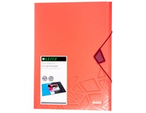 Desky na spisy Leitz Urban polypropylen červený 1ks