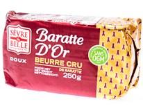 Baratte Máslo nepasterizované solené 80% chlaz. 1x250g