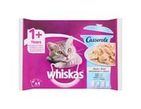 Whiskas Casserole rybí výběr v želé pro kočky 4x85g