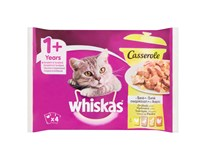 Whiskas Caserole Drůbeží výběr pro kočky 4x85g
