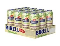 Birell Botanical bezový květ nealkoholické pivo 12x400ml plech