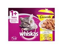 Whiskas Casserol drůbeží výběr pro kočky 12x85g