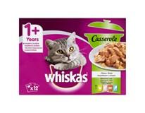 Whiskas Casserol mix výběr pro kočky 12x85g