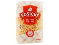 Rosické těstoviny Kolínka bezvaječná 12x500g