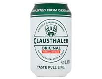 Clausthaler Classic nealkoholické pivo 24x330ml