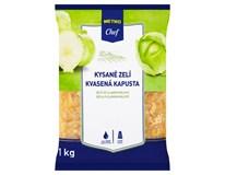 Metro Chef Zelí kysané bílé SK 85% chlaz. 1x1kg fólie