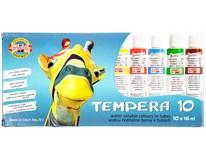 Tempery KOH-I-NOOR 16ml 10barev 1ks