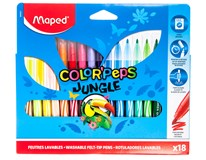 Fixy barevné Maped Color'Peps Jungle - Marker 18 barev 1bal.