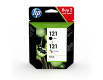 Cartridge HP 21/22 combo pack 1ks