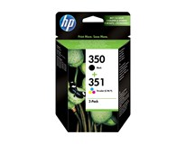 Cartridge HP 350/351 combo pack 1ks