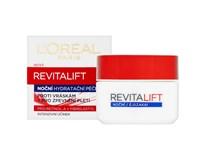 L'Oréal Revitalift Noční krém proti vráskám+ pro zpevnění pleti 1x50ml