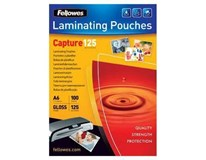 Fólie do laminátoru Fellowes 125micron/ A6 (111x154mm) 100ks