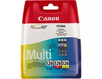 Cartridge Canon CLI-526 C/M/Y 1ks