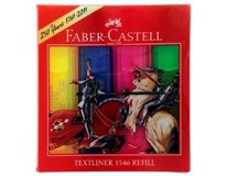 Zvýrazňovač Faber-Castell textliner 1546 sada 4ks