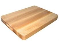 Deska krájecí s úchopem dřevěná 36x26cm 1ks