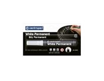 Značkovač Centropen 8586 permanentní bílá 1ks