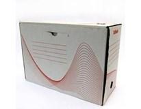 Archivační box 150mm bílý 1ks