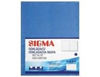 Desky Odkládací mapa Sigma 250 modré 10ks