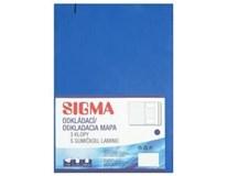 Desky Odkládací mapa Sigma 253 pp plus modré 5ks