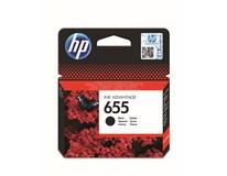 Cartridge HP 655 černá 1ks