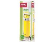 Láhev sportovní Corn LT4020 0,6L žlutá 1ks