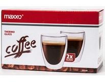 Termosklenice Maxxo Coffee 235ml 2ks
