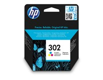 Cartridge HP 302 tricolour 1ks
