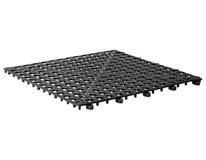 Podložka odkapávací 33x33cm černá 1ks